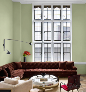 Olive Sprig Paint Color by PPG